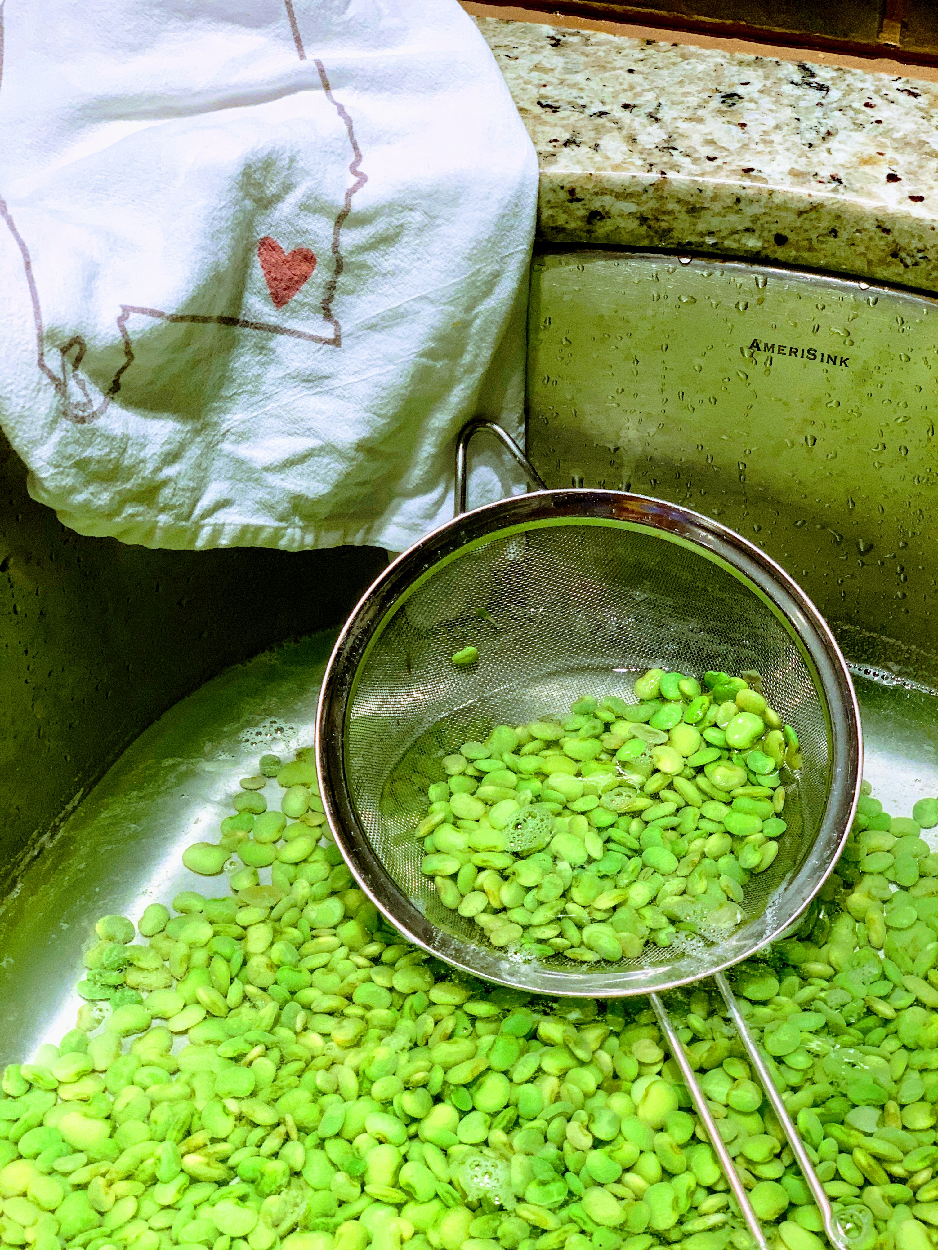 Preserving Methods: How to Freeze Peas, Butterbeans, Limas