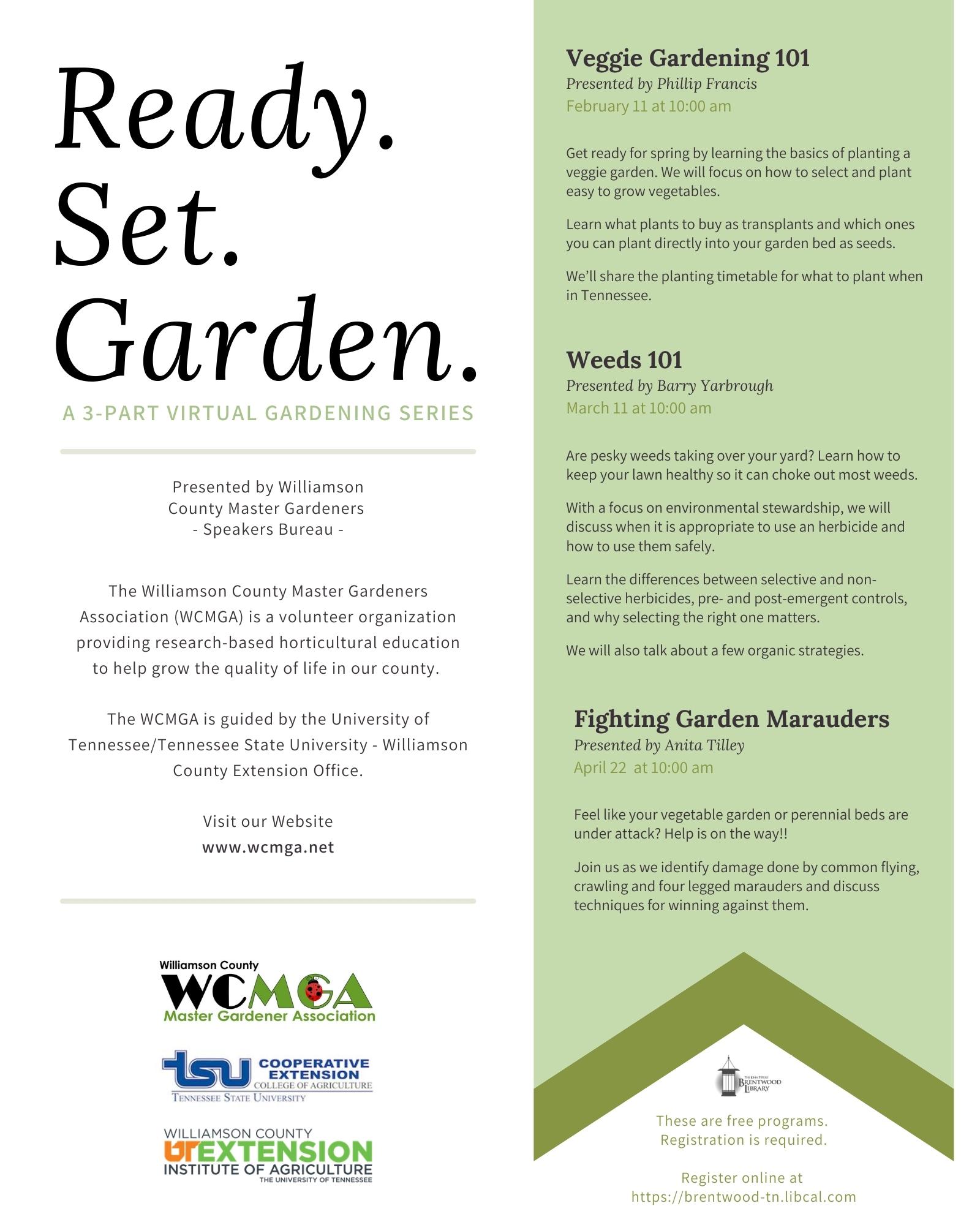 Virtual Garden Talk: Weeds 101