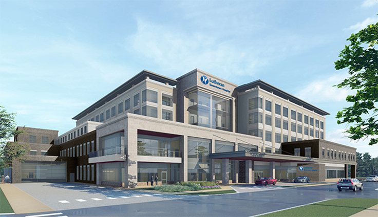 Lutheran Downtown Hospital - Opening Early 2022