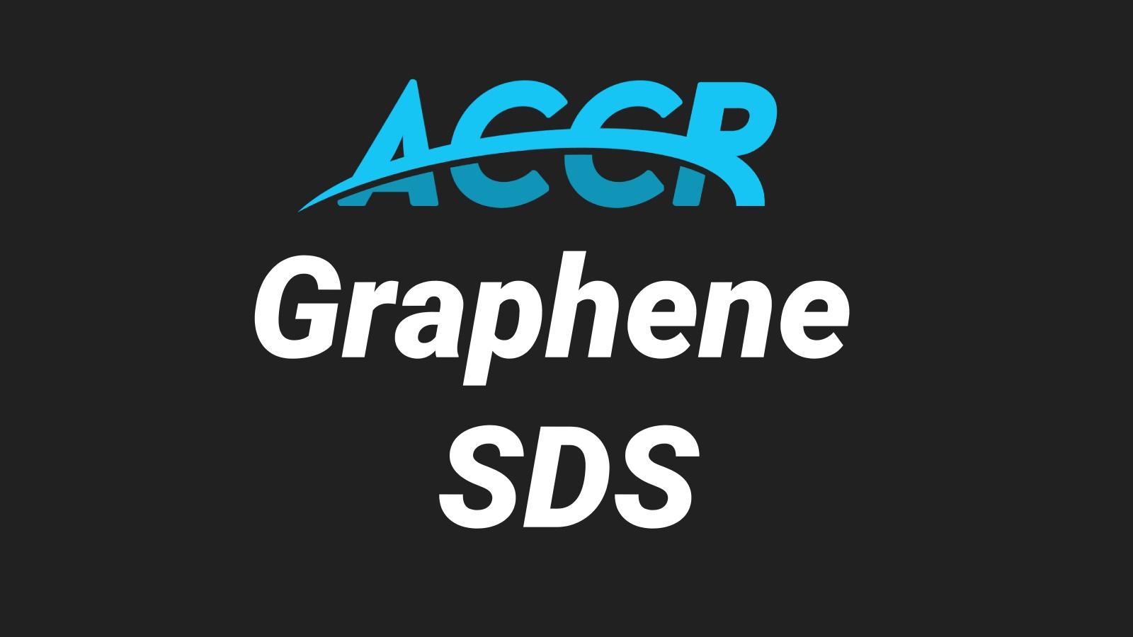 Graphene Material Safety Data Sheet (SDS)